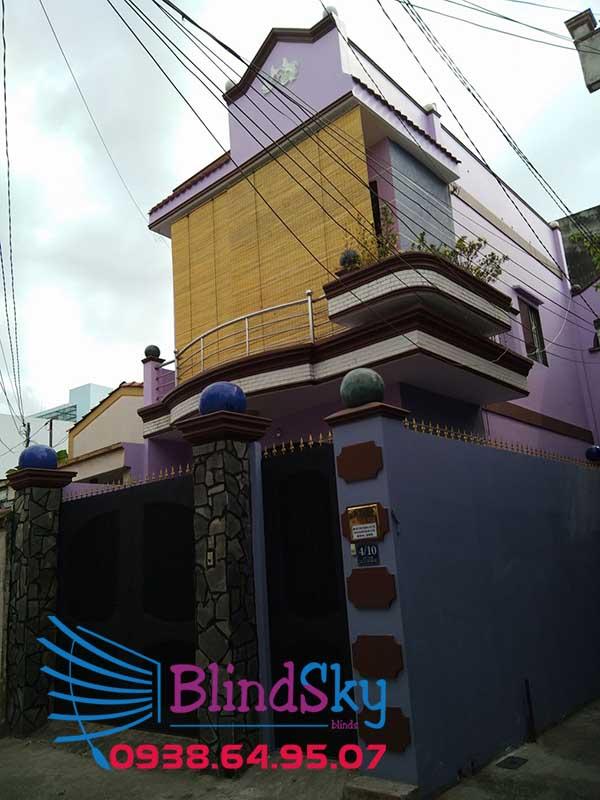 mành trúc che nắng ban công quận Bình Tân