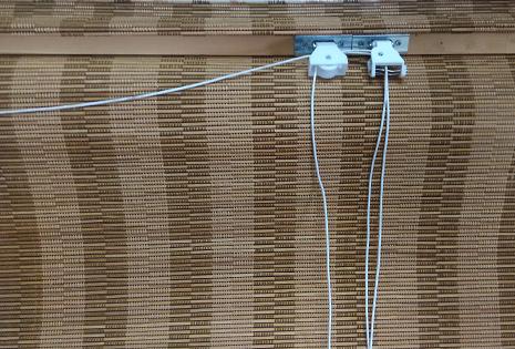 Mẫu hình mành tre trúc trong nhà