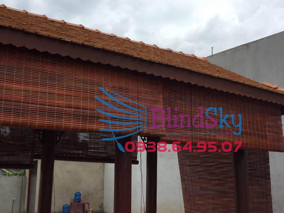 Mua mành sáo tre trúc nhà gỗ tại Tân Uyên