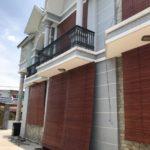 Mành trúc cạo nâu mang đến thẵm mỹ cho căn biệt thự