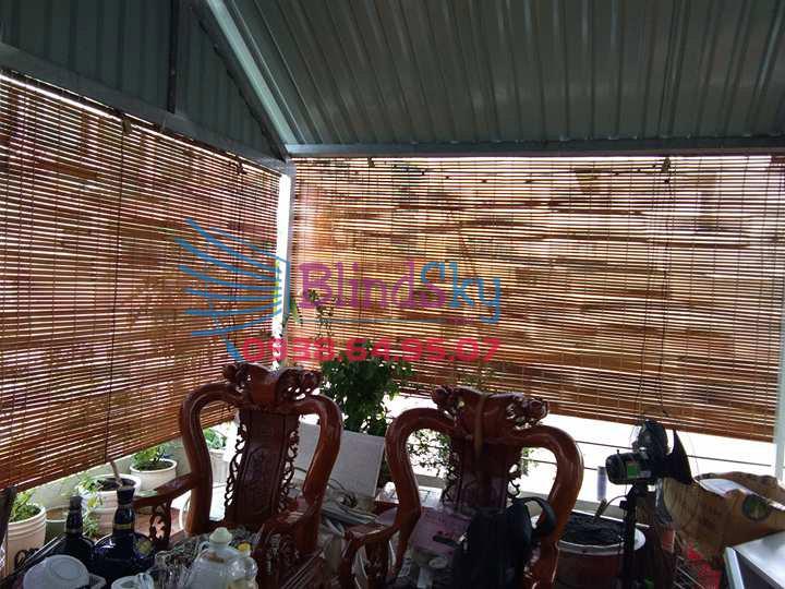 màn sáo che nắng bằng tre trúc
